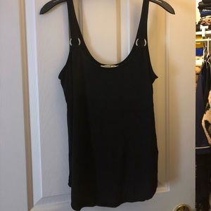 Express One Eleven black tank top